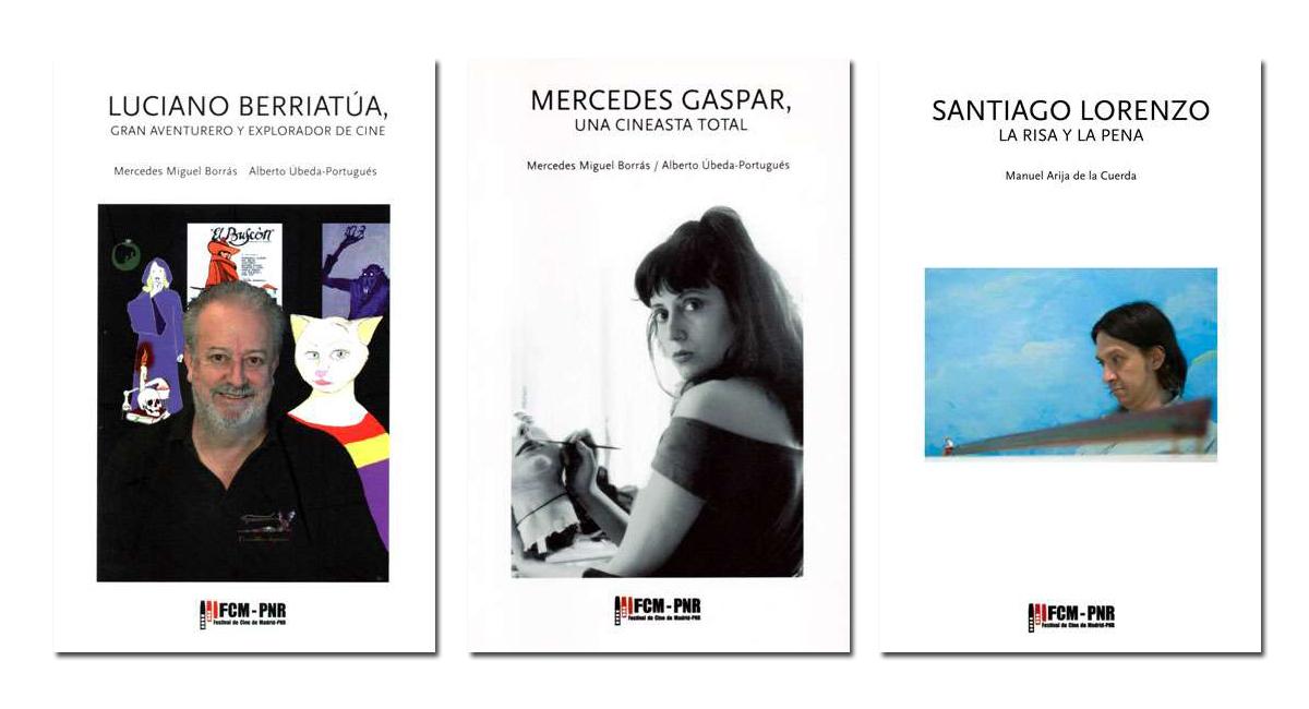"""Los libros sobre nuestros homenajeados en el FCM-PNR, en la librería """"8 y medio"""""""