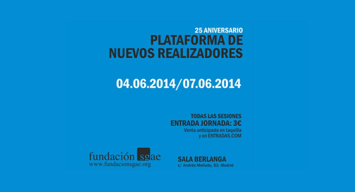 La Sala Berlanga acoge el 25º aniversario de la Plataforma Nuevos Realizadores