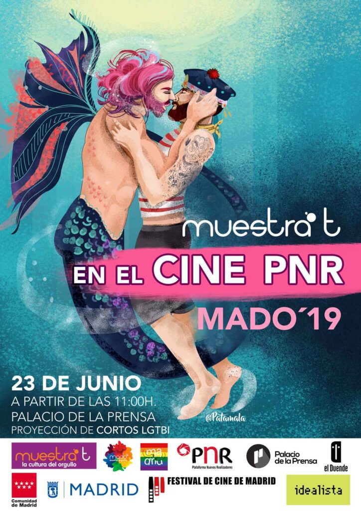 cartel muestrat en el cine LGTBI