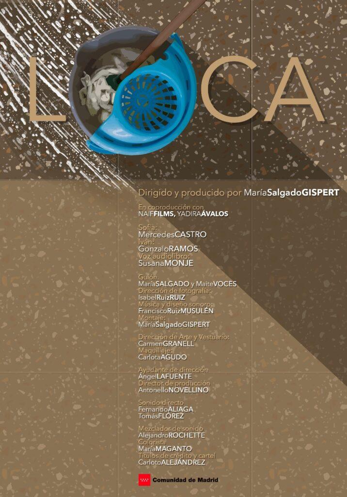 cartel cortometraje LOCA