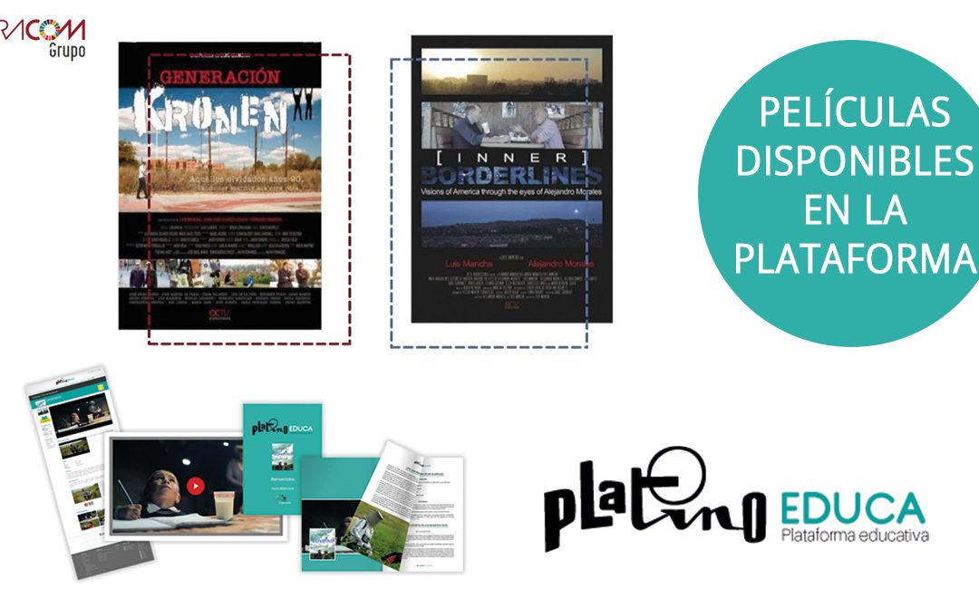 """Los documentales """"Inner Borderlines"""" y """"Generación Kronen"""" del director Luis Mancha (PNR) disponibles en la plataforma Platino Educa"""