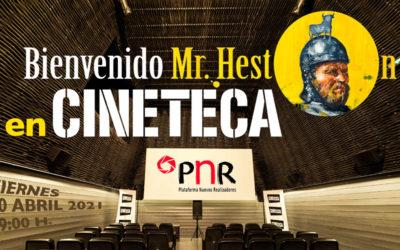 """La PNR se suma a la conmemoración del aniversario del rodaje de la película """"El Cid"""" con la proyección del documental """"Bienvenido Mr. Heston"""" de Pedro Estepa y Elena Ferrándiz"""