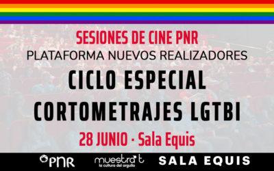 La PNR celebra el Día del Orgullo con una muestra de cortometrajes LGTBI en Sala Equis