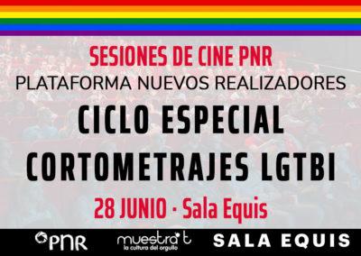 PNR celebra el Día del Orgullo con una muestra de cortometrajes LGTBI