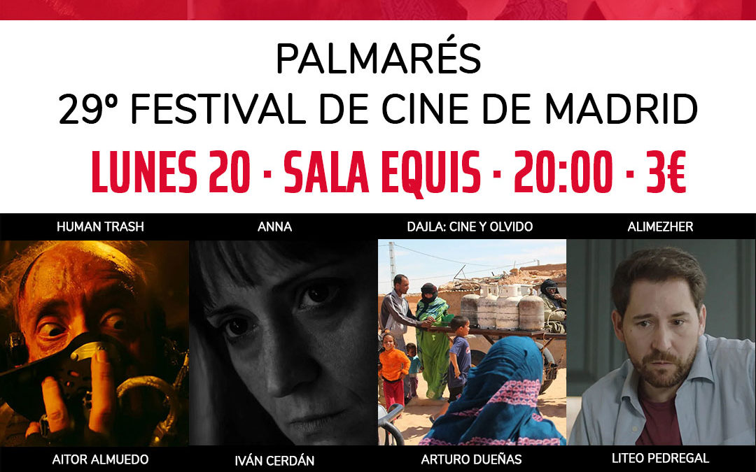 PNR presenta cortometrajes de socios ganadores del  Palmarés 29º Festival de Cine de Madrid